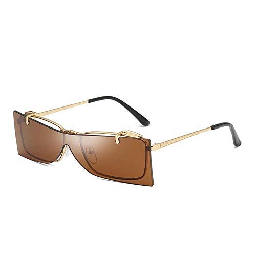 Yuany Kleine flip Sonnenbrille Frauen männer Mode Shades Sonnenbrille randlose integrierte Bonbonfarben