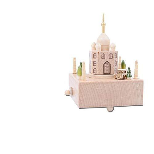 YEHRTUYT Carrusel-Schreibmaschine Spieluhr Spieluhr Spieluhr Spieluhr A