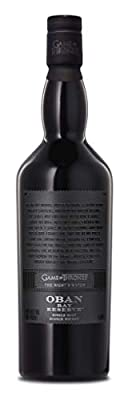 Oban Little Bay Reserve Single Malt Scotch Whisky 70cl - The Night's Watch Game of Thrones Limited Edition