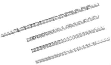 Bgs aufstecksc hiene avec 15 clips, 6,3 mm, 1/4 \