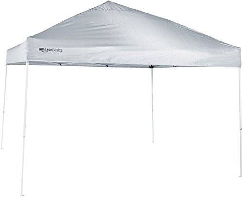 AmazonBasics Pop-Up Canopy Tent - 3,04 x 3,04 m, White 1