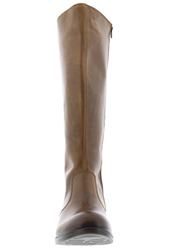 Fly London Axil078fly, Stivali da Equitazione Donna Marrone (Camel/chocolate)