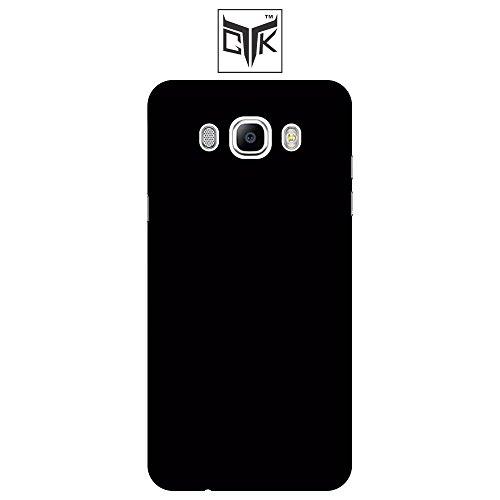 TGK™ Ultra Premium Matte Rubberized Velvet Feel Hard Back Cover for Samsung Galaxy J7 - 6 (New 2016 Edition - J710) - Jet Black (Not Compatible with Samsung Galaxy J7 - J700)