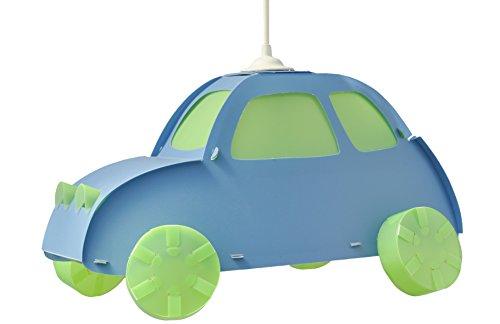 R & M Coudert Deckenleuchte für Kinderzimmer Hängeleuchte Auto blau Sv1 Auto