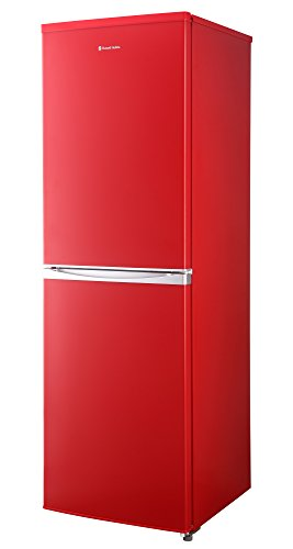 Russell Hobbs Freestanding 173cm Tall Fridge Freezer, A+ Rating, 237 Litre Net Capacity, Red, Reversible Doors, RH54FF170R
