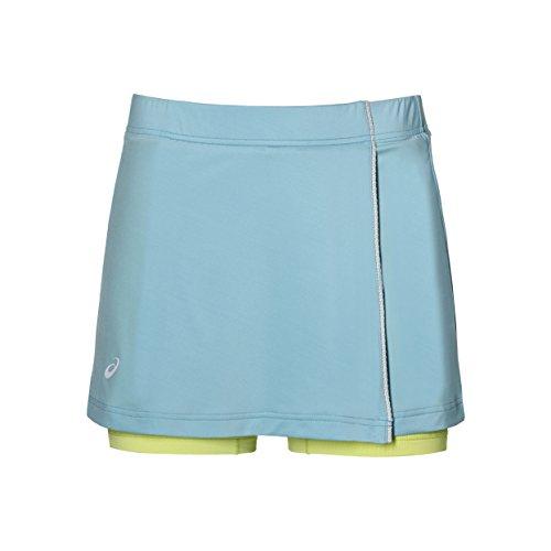 ASICS Damen Skort Women Röcke, hellblau, - Für Tennisröcke Kinder