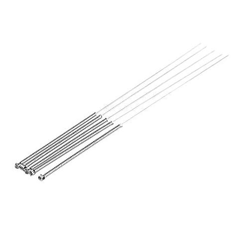 5pcs 0,15/0,2/0,25/0,3/0,35/0.4mm imprimante 3d Buse de foret Outil de nettoyage kit 0.4mm