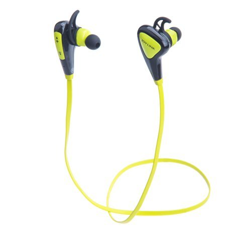 Bluetooth Earbuds, Joylink Bluetooth 4.1 Wireless Sport Sweatproof Headphones for Running Gym Exercise Compatible with iPhone, Samsung, LG, Nokia, HTC Smartphones