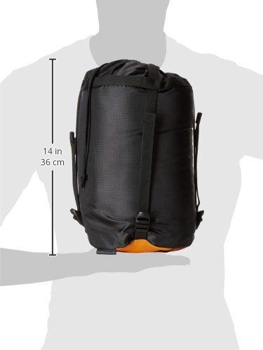 Millet Baikal 1100Schlafsack Trekking Acid Orange Größe - 4
