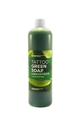 AloeTattoo Green Soap / Grüne Seife KONZENTRAT 500 ml Tattoo-Flüssigseife