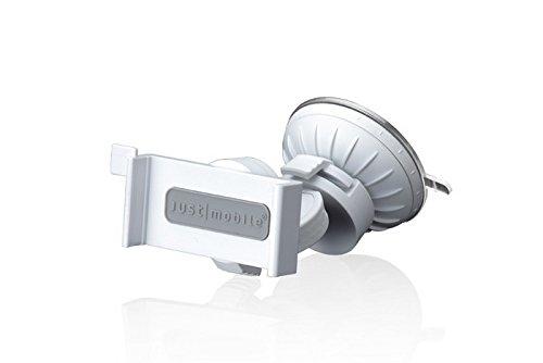 Galleria fotografica JustMobile Xtand Go Supporto da Auto per iPhone, Bianco