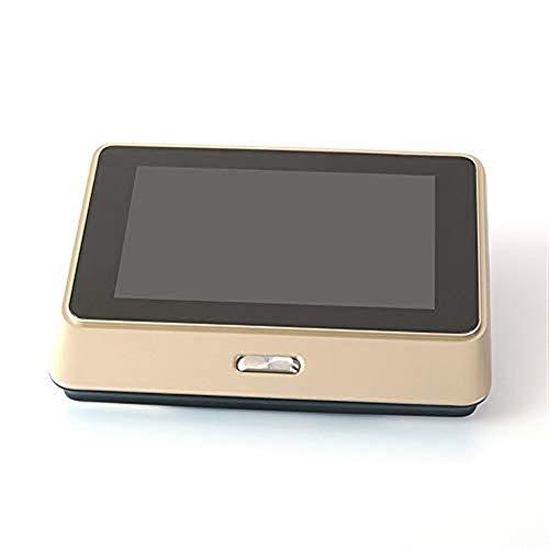Lqqml Campanello Smart Wireless Video Campanello - WiFi Electronic Cat\'s Eye - Specchio Digitale per la casa, Visione Notturna a infrarossi Campanello di casa