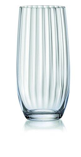 Wasserfall, 35 cl, fein, edles geblasene Kristall Glas Hi Ball, transparent, 6 Stück Hi-ball Gläser