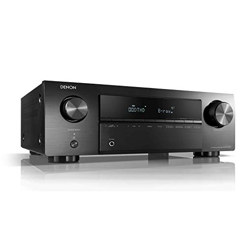 31IVQWKnKtL. SS500  - Denon AVR-X250BT 130W 5.1channels Surround 3D Black AVR-X250BT, 130 W, 5.1 channels, Surround, 70 W, 90 W, 1%