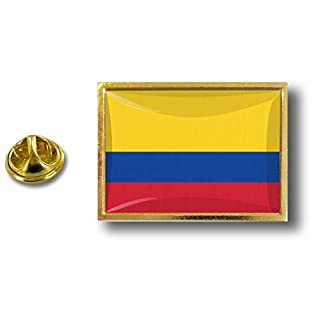 Akacha pins pin's Flag National Badge Metal Lapel Backpack hat Button Vest Colombia