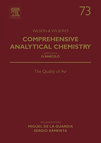 The Quality of Air (Comprehensive Analytical Chemistry Book 73) (English Edition) -