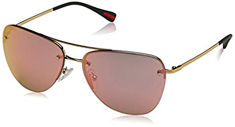 PRADA SPORT Mod. 50RS ZVN5L259 (59 Mm) Sunglasses, Gold (Goldfarben), One Size