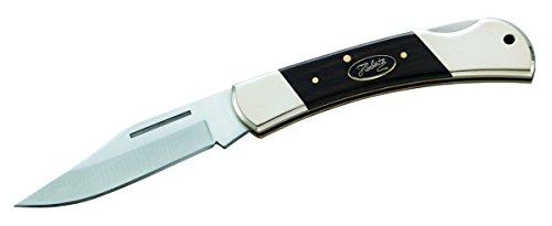 Herbertz Messer Taschenmesser Holzgriffschalen Länge geöffnet: 19.2 cm, grau, M