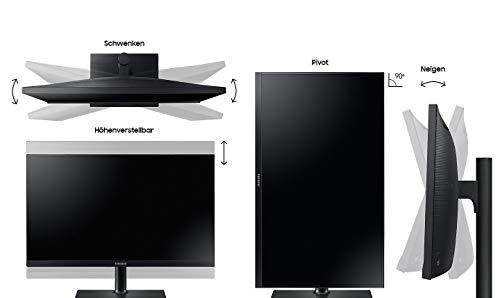Samsung LS27H850QFUXEN WQHD 27-inch Monitor (Black)