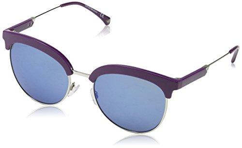 Emporio Armani Damen 561055 Sonnenbrille, Grau (Violet/Silver), 54