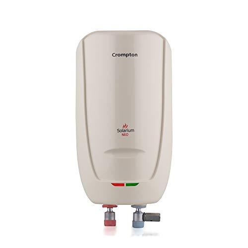 Crompton Solarium Neo (3KW) 03-Litre Instant Water Heater (Ivory)