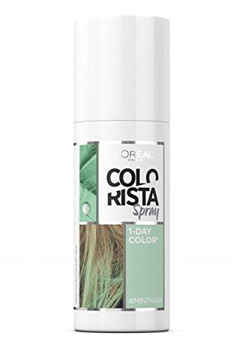 L'Oréal Paris Spray coloración temporal colorista 3 mint