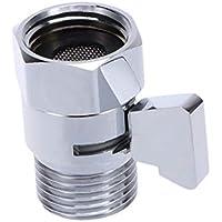 OUNONA Aqua Control Válvula de interceptación para Ducha dsrl para Ducha de Mano Válvula de derivación Válvula de Ducha de baño con Brazo Válvula deviatrice montada