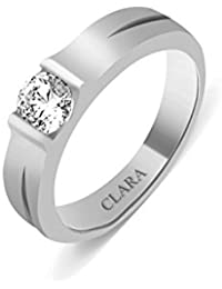 Clara Swarovski The Marcos Sterling Silver Ring For Men
