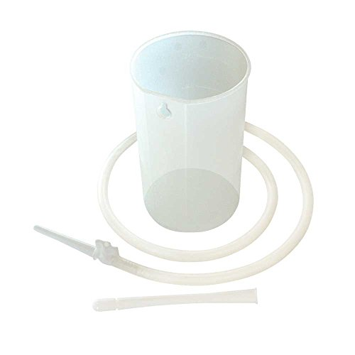Behrend Irrigator-Set, Darmspülungen Darmreinigung, graduiert, aus PP, weiß, 1 o 2 Liter
