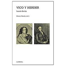 Vico y Herder: Dos estudios en la historia de las ideas (Teorema. Serie Mayor)