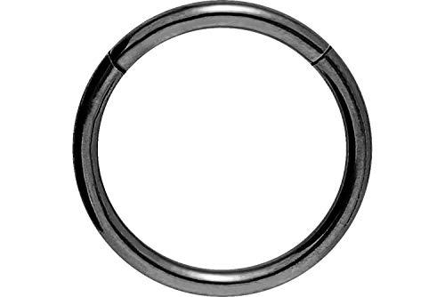 egmentring Clicker | Piercing ✔ Septum ✔ Tragus ✔ Helix ✔ | Farb & Größenauswahl ()