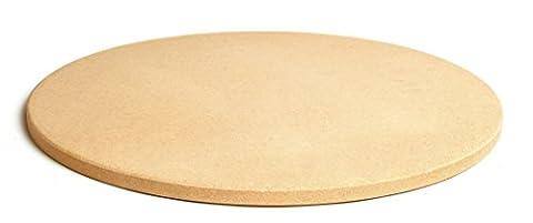 Pizzacraft Runder Pizzastein, 42 cm Durchmesser, gelb, 4.83 x 46.99 x 45.82 cm, PC0101