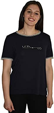 T-Shirt Donna, Veri Swarovski, Lurex, Made in Italy
