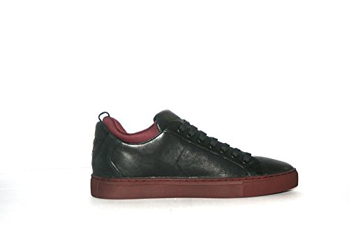 CRIME LONDON SCARPE IN PELLE 11301A16B NERO BORDEAUX UOMO-42