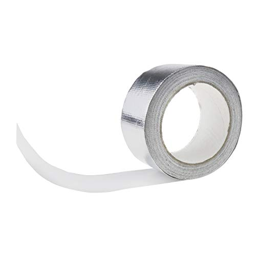ENET Aluminium Shield Tape verstärkte hitzebeständig Auspuff Rohr Isolierung Tapes