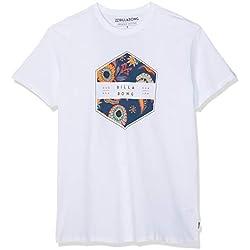 BILLABONG Access tee SS Camiseta, Blanco (White 10), X-Large (Tamaño del Fabricante:XL) para Hombre