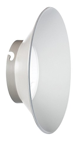 Elinchrom Weitwinkel Reflektor, 24cm, 135Grad, für Elinchrom Blitzköpfe (el26164) Novatron Flash