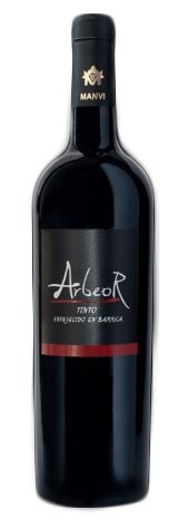 Vino Rosso Arbeor Tempranillo/Syrah - Invecchiato in botte