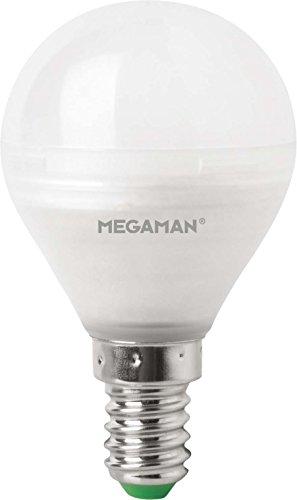 Megaman 6W LED E14Tropfen mit 3-paso Regulierung durch die Licht Schalter, warmweiß