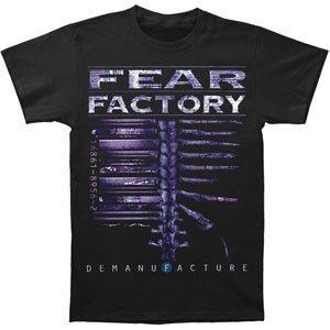 Rockabilia Fear Factory T-shirt Large Nero