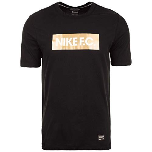 Nike FC Gold T-Shirt (L, Black) (Schwarz Und Gold-shirt Von Nike)