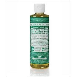 Organic Almond Castile Liquid Soap - 237ml -