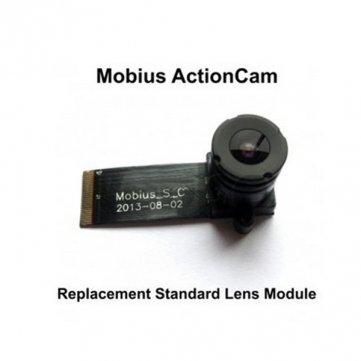 Hochqualitatives Reserve Standardobjektiv -Modul für den Mobius Action Sport Kamera