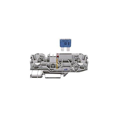 WAGO 2006-1681 Sicherungsklemme 7.50 mm Zugfeder Belegung: L Grau 1 St.