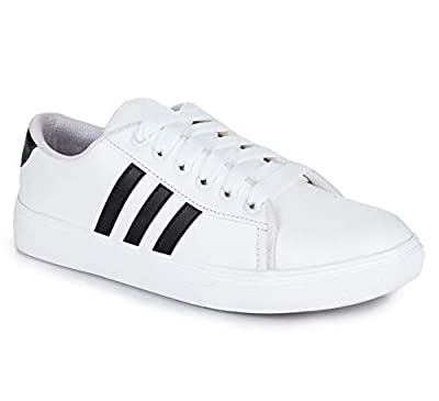 DIOS Women Sneaker Shoes Color- White (Article-3)