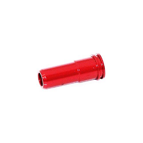 Airsoft Softair Ersatzteile SHS Aluminium Air Seal Nozzle (Rot) für M4 M16 Serie AEG