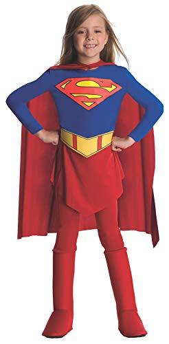 Mädchen Supergirl Kostüm Baby - Rubie's offizielles Supergirl Mädchen Kostüm, Small (3-4 Jahre)