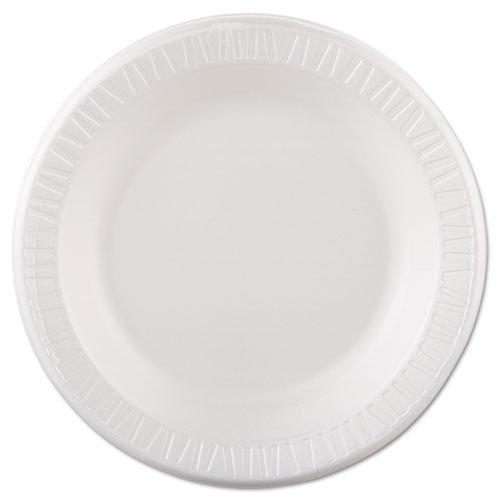 Solo Cup Company de plaques en mousse, 25,4 cm de diamètre, Blanc, 125/Lot