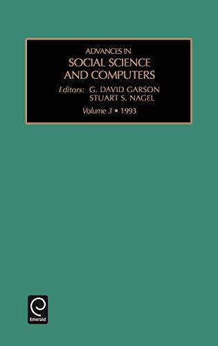 Adv Soc Sci Com V3 (Advances in Social Science and Computers)