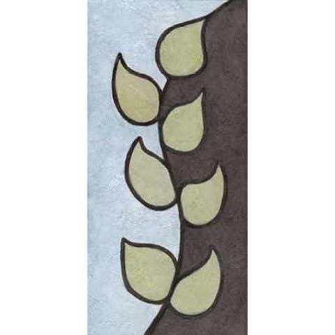 Impresión de Arte Fino en lienzo : Vertical Vine by Emery, Kristin - Grande (36 x 76 Cms)